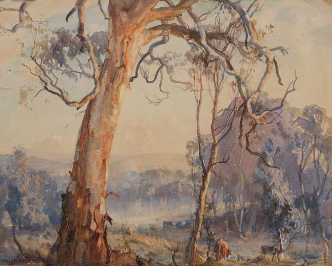 Spring Morning by HANS HEYSEN