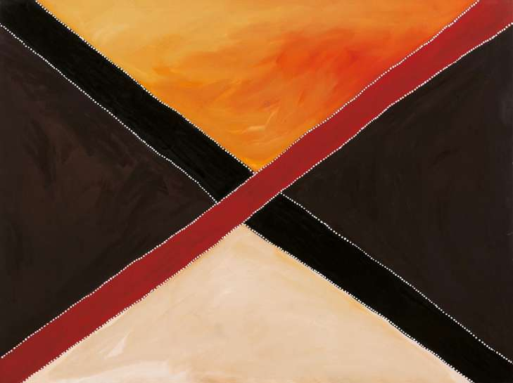 Crossroads by ROVER THOMAS (JULAMA)