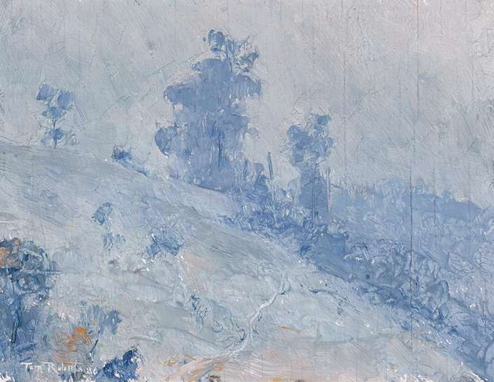 Blue Hillside by TOM ROBERTS
