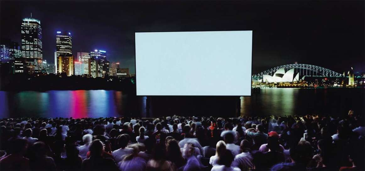 Open Air Cinema (from the Leisureland series) by ANNE ZAHALKA