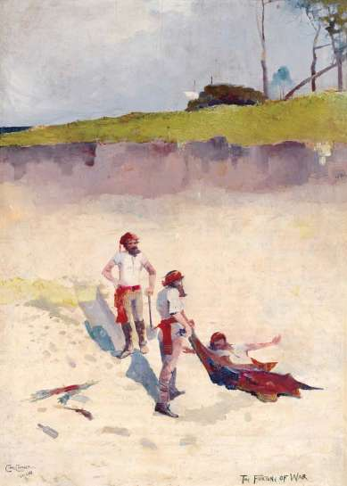 The Fortune of War by CHARLES CONDER