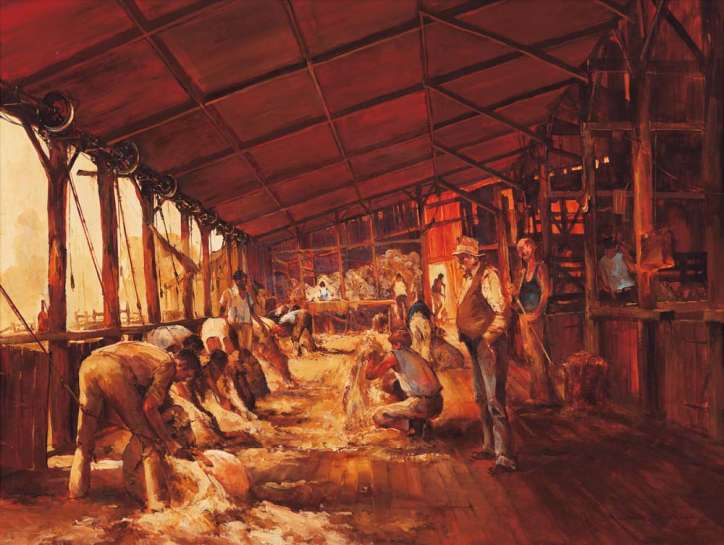 Shearing the Rams by D'ARCY DOYLE