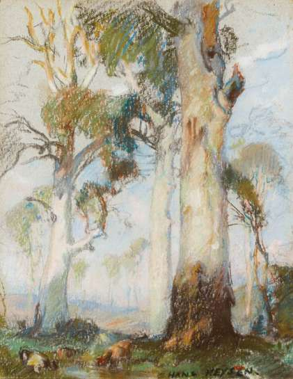 A Lord of the Bush by HANS HEYSEN