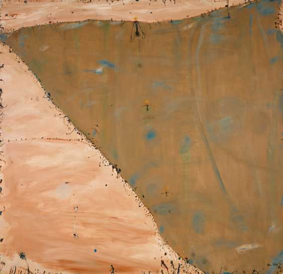 Murray Flowing into Lake Alexandrina by JOHN OLSEN