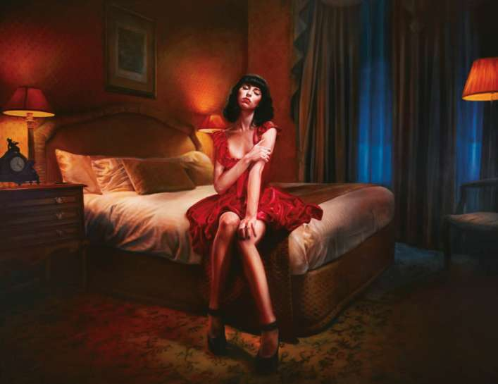 Kimbra (The Build Up) by VINCENT FANTAUZZO