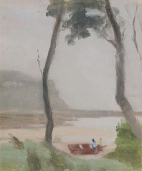 Early Morning (The Fishermen) by CLARICE BECKETT