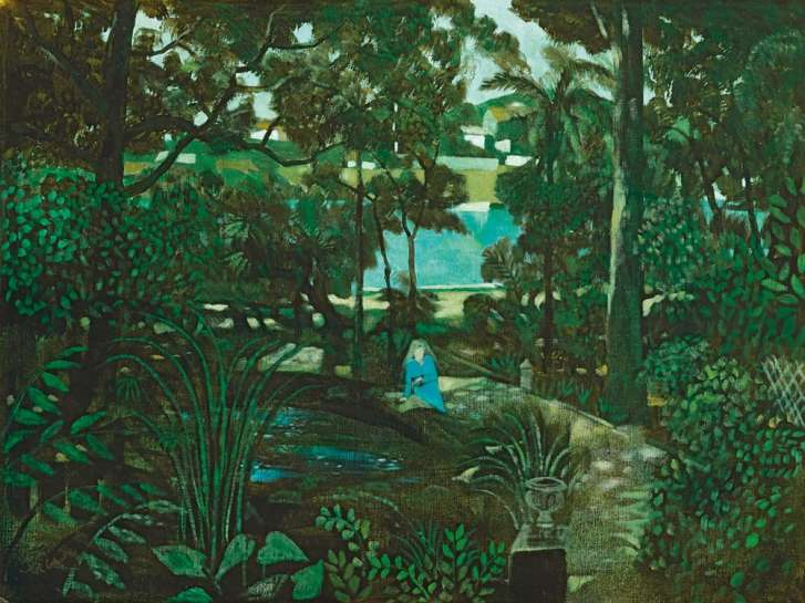 The Artist's Garden by RAY CROOKE