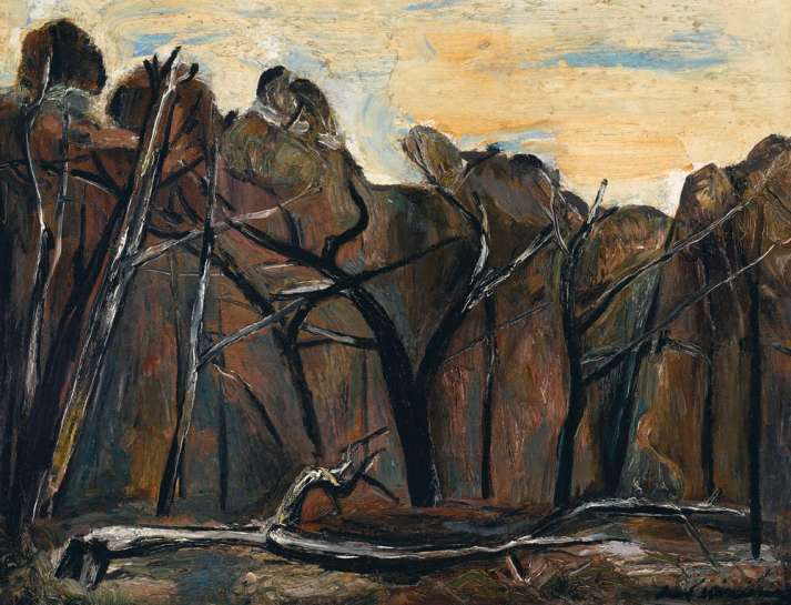 Fallen Tree by FRED WILLIAMS