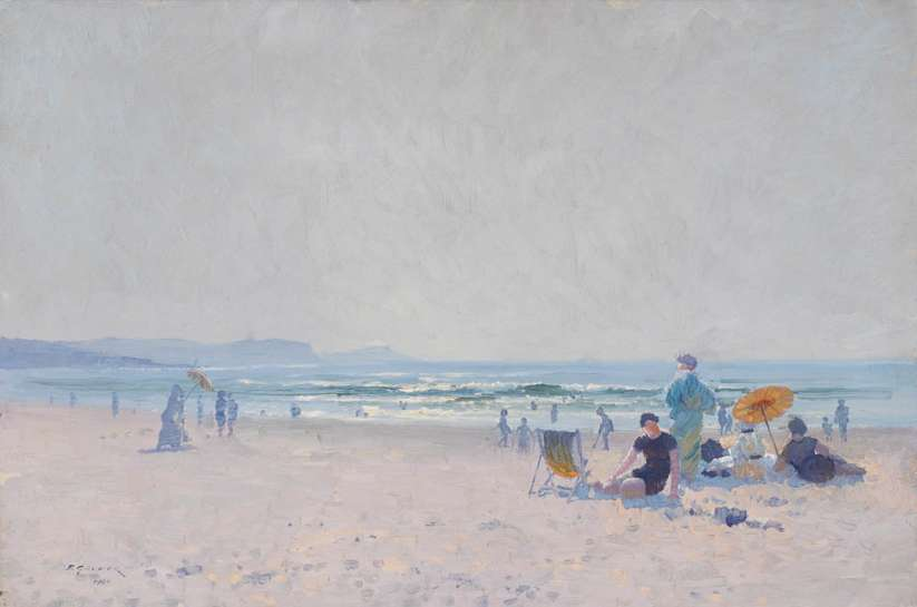 On the Sands by ELIOTH GRUNER