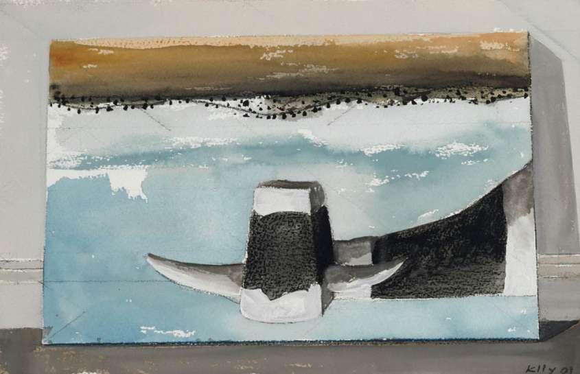 Upside Down Cow by JOHN KELLY