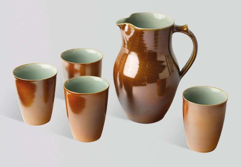 Jug and Four Beakers by GWYN HANSSEN PIGOTT