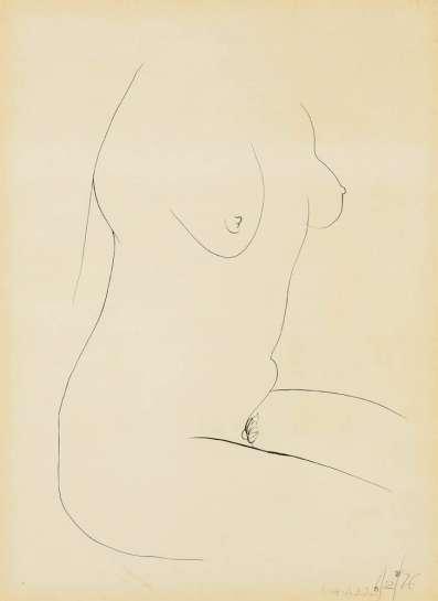 Female Nude by BRETT WHITELEY