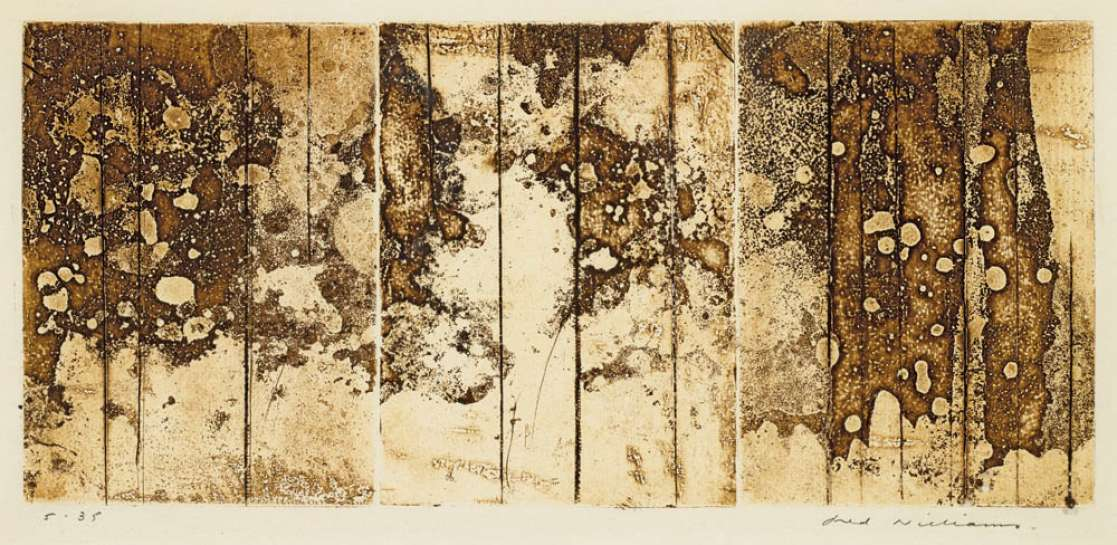 Landscape Triptych No. 1 by FRED WILLIAMS