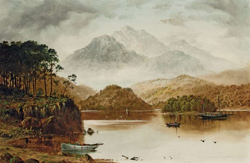 Untitled (Scottish Landscape) by HAUGHTON FORREST