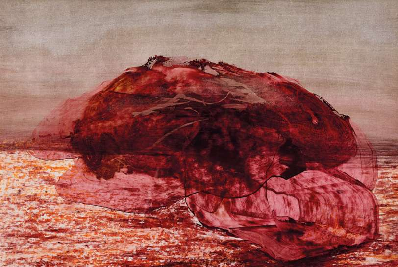 Rock, Central Australia by SIDNEY NOLAN