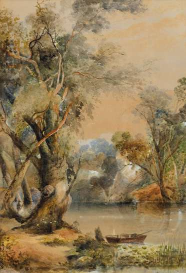 On the Yarra by HENRY EASON DAVIES