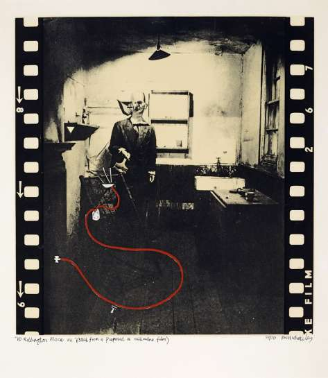10 Rillington Place W11 (Still from a Proposed 16 mm Film) by BRETT WHITELEY
