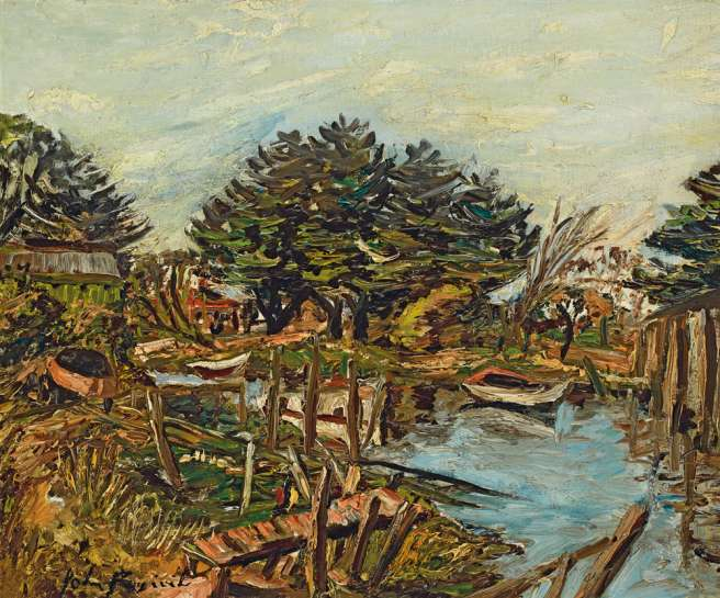 Mordialloc Creek by JOHN PERCEVAL