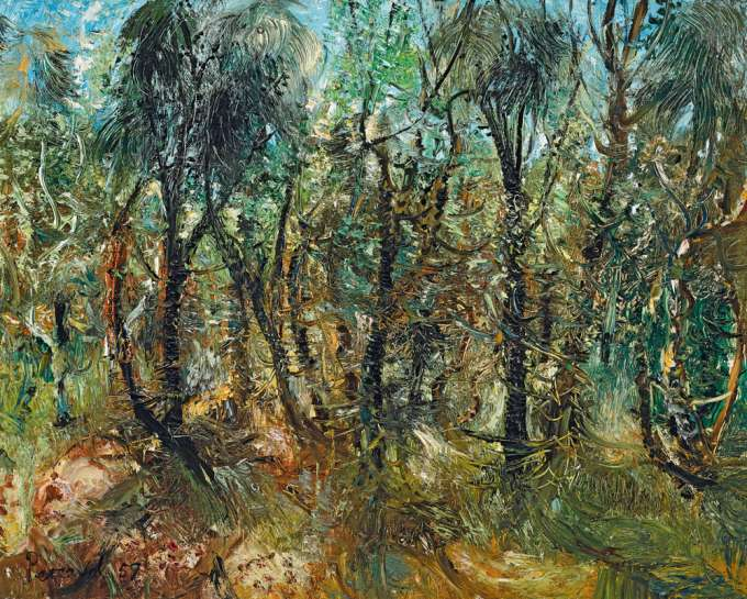 Ti Tree and She Oaks by JOHN PERCEVAL