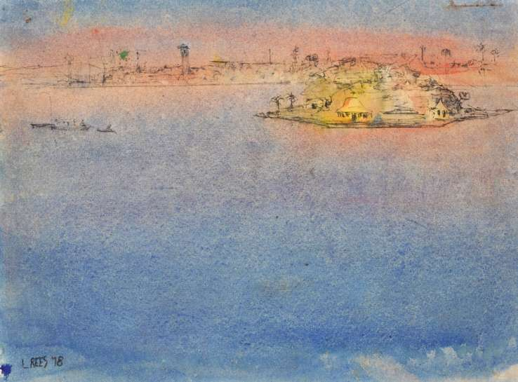 Study for Dusk at Drummoyne by LLOYD REES