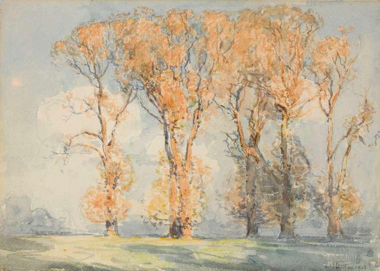 Windsor Meadows by ARTHUR STREETON