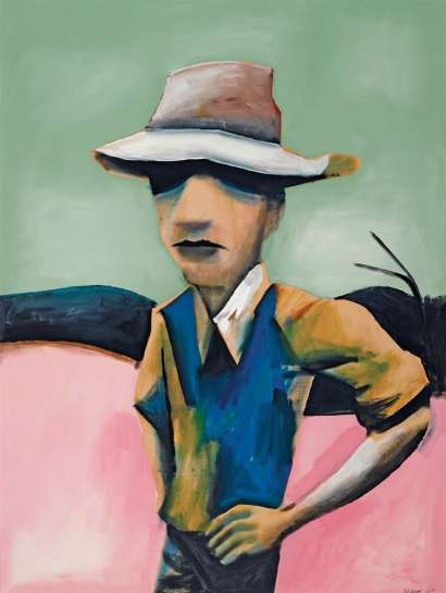 Hill Farmer by CHARLES BLACKMAN
