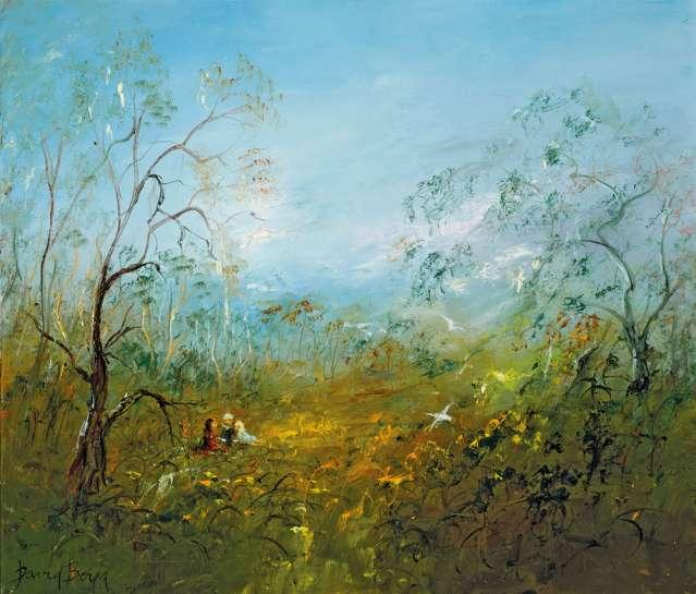A Rest in the Bush by DAVID BOYD