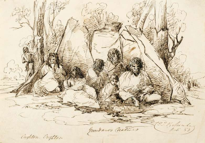 Gundaroo Natives by THOMAS BALCOMBE