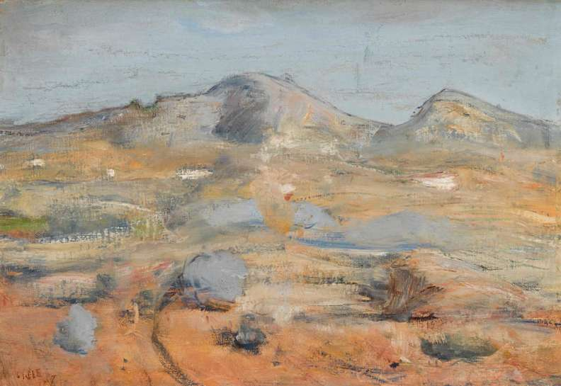 Landscape at Orange by LLOYD REES