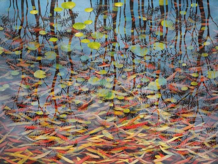 Fish and Ripple - Dingo Springs II by LIN ONUS