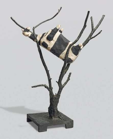 Cow up a Tree by JOHN KELLY