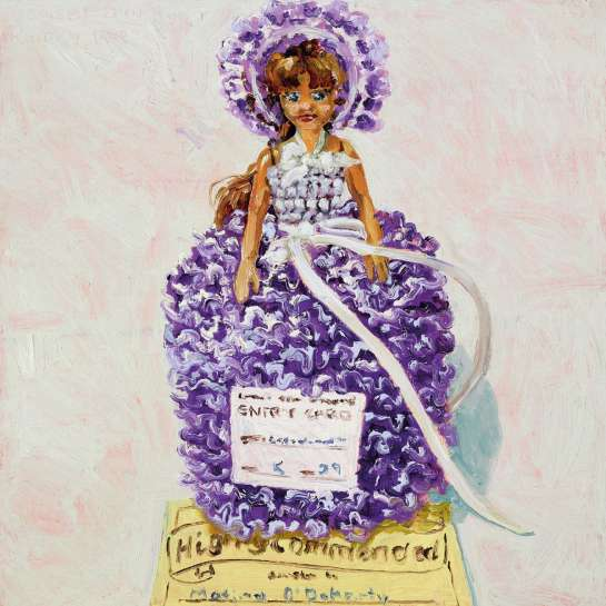 Dressed Doll - Knitting, Lace by LUCY CULLITON