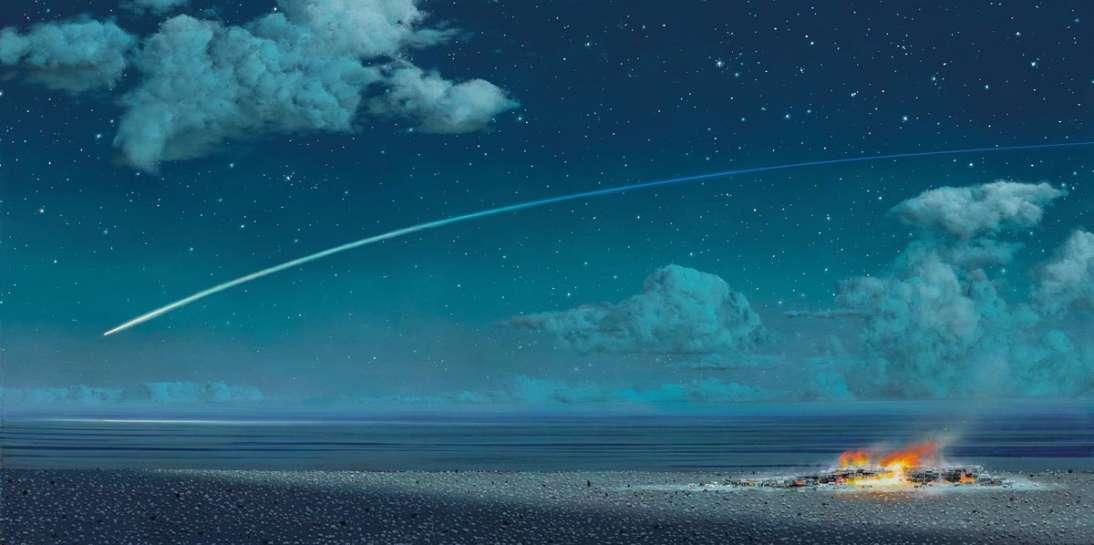 Moonlight Plain by TIM STORRIER