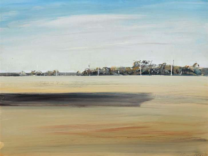 Shoalhaven Landscape by ARTHUR BOYD