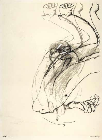 Swinging Monkey 1 by BRETT WHITELEY