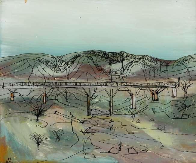 Bridge by SIDNEY NOLAN