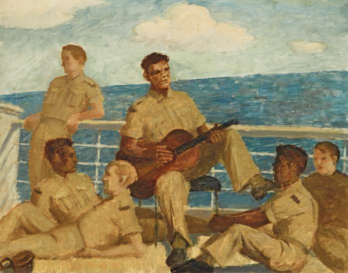 Rest and Recreation by ROLAND WAKELIN
