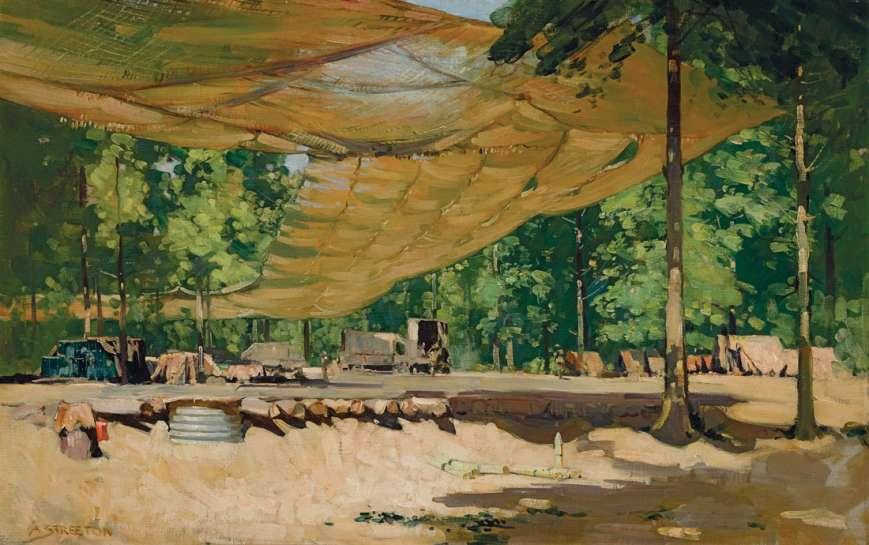 The Ballarat Dump, St Gratien by ARTHUR STREETON
