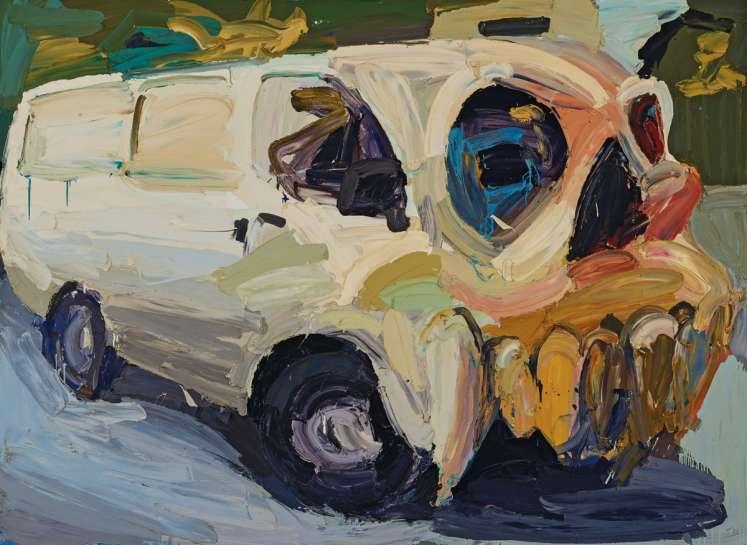 Skull 3 by BEN QUILTY