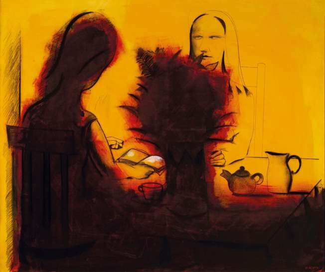 The Reading Room by CHARLES BLACKMAN