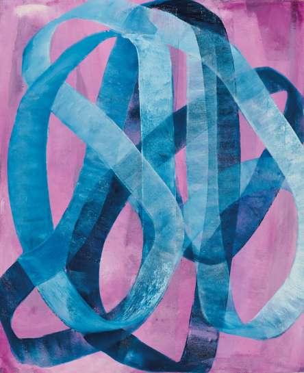 Blue Heart by ILDIKO KOVACS