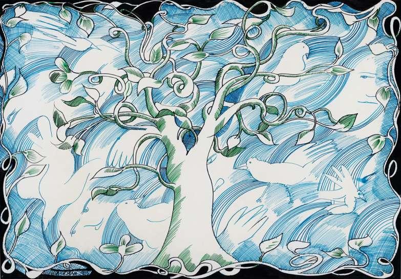 The Bluebird Cloth by CHARLES BLACKMAN