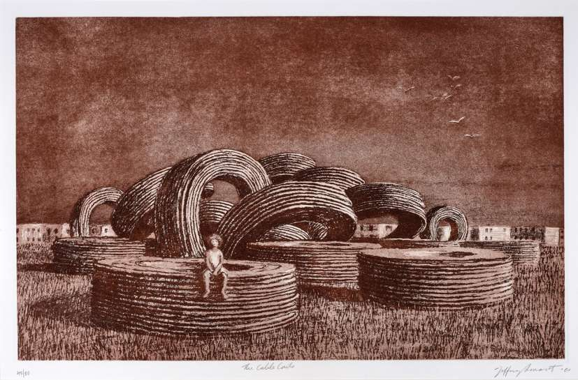 The Cable Coils by JEFFREY SMART