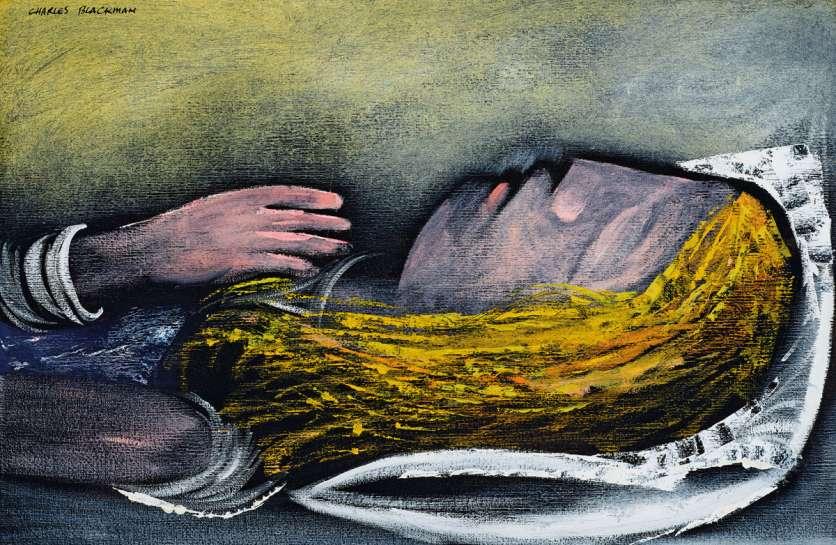 Sleeping Alice by CHARLES BLACKMAN