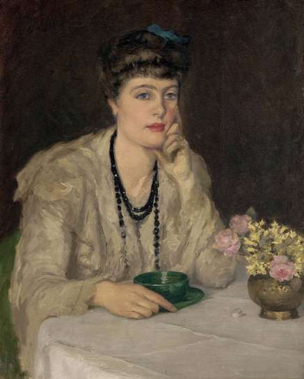 A Cup of Chocolate (also known as At the Table) by RUPERT BUNNY