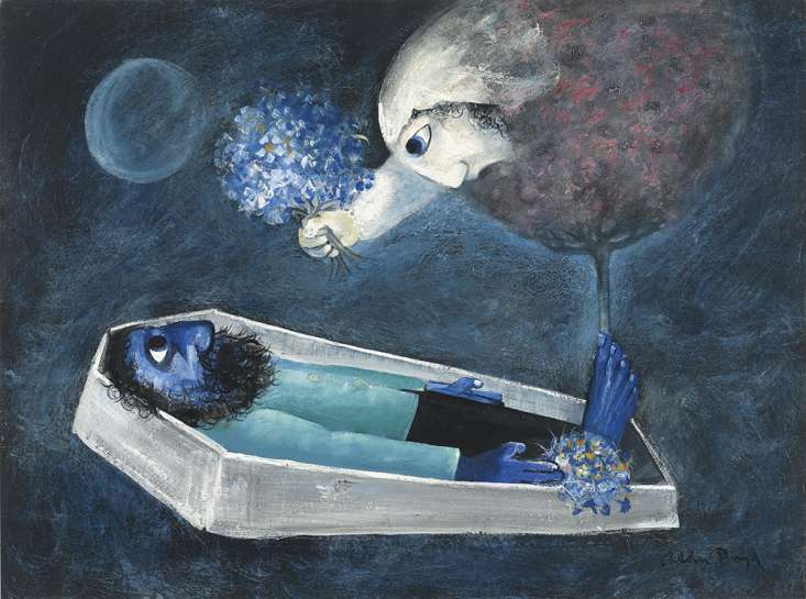 Death of a Husband by ARTHUR BOYD