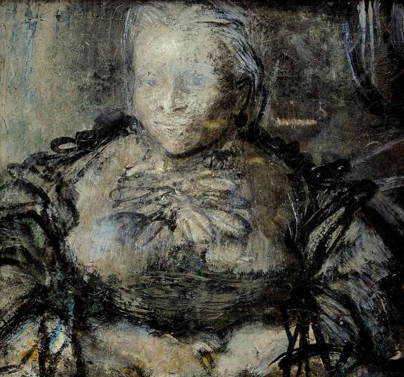 Study for The Matriarch by WILLIAM DOBELL