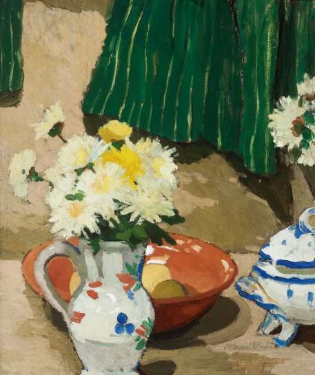 The Green Curtain by MARGARET PRESTON
