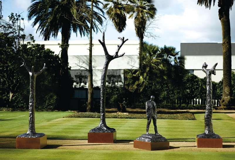 RICK AMOR Figure in Landscape 2007 image