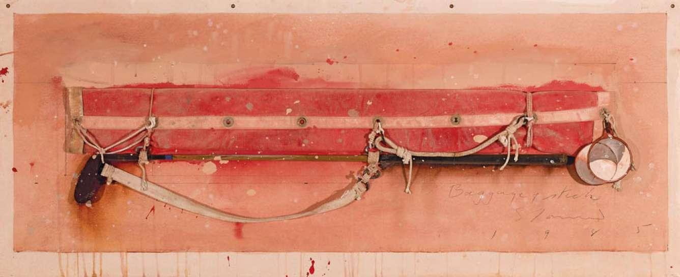 Baggage + Stick by TIM STORRIER